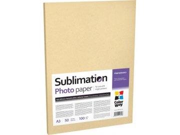 Fotopapier CW sublimačný 100g/m², 50ks, A4