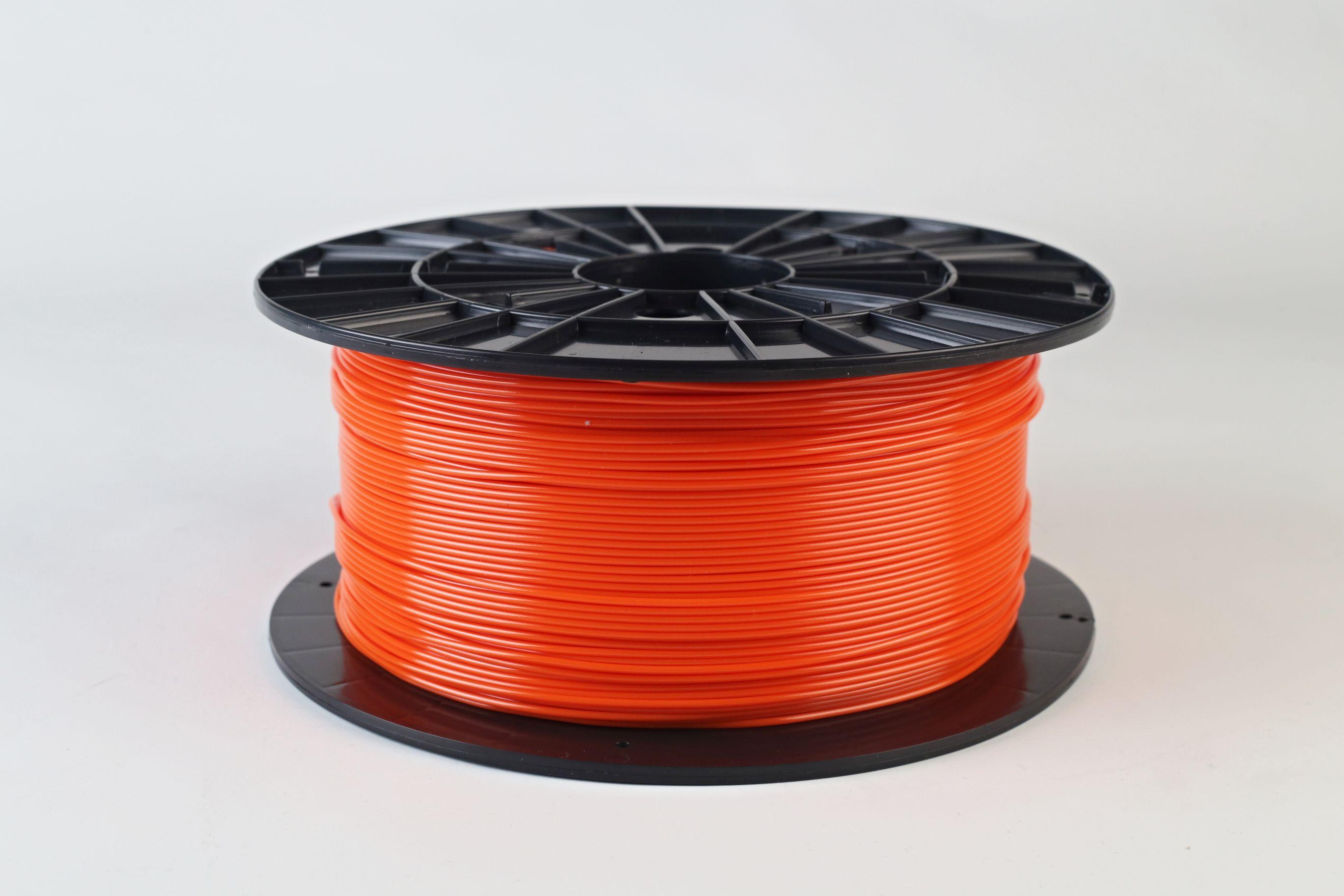 Filament-PM Tlačová struna PETG 1.75mm, 1kg - rôzne farby Farba: Oranžová
