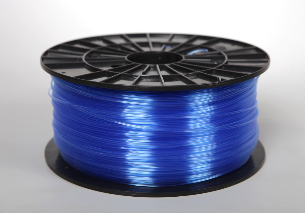Filament-PM Tlačová struna ABS-T, 1.75mm, 1kg - rôzne farby Farba: Transparentná Modrá