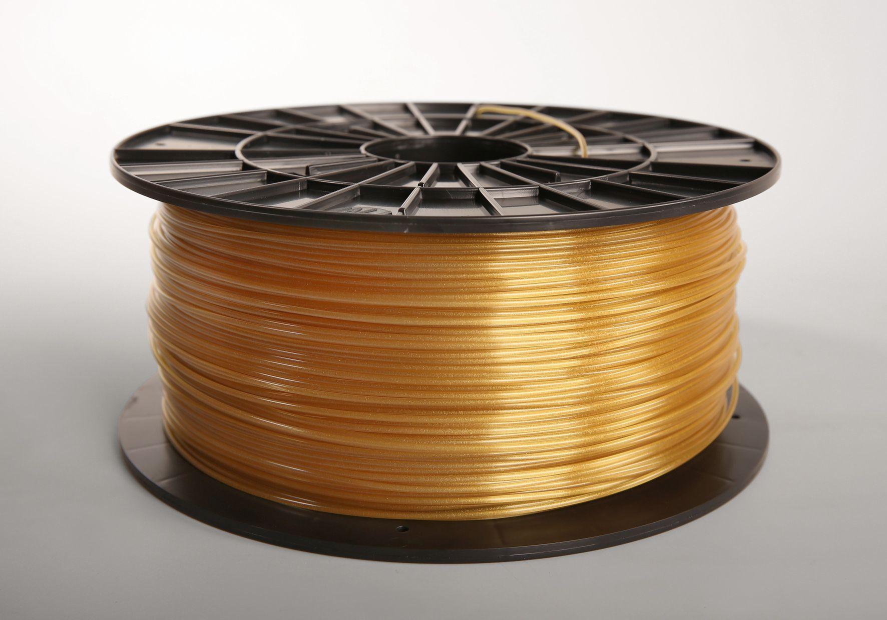 Filament-PM Tlačová struna ABS-T, 1.75mm, 1kg - rôzne farby Farba: Zlatá