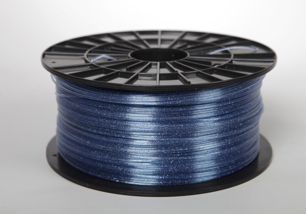 Filament-PM Tlačová struna ABS-T, 1.75mm, 1kg - rôzne farby Farba: Modrá s flitrami