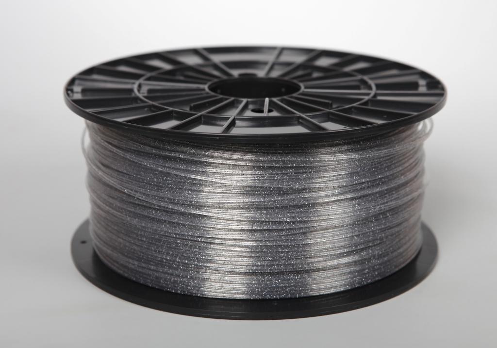 Filament-PM Tlačová struna ABS-T, 1.75mm, 1kg - rôzne farby Farba: Transparentná s flitrami