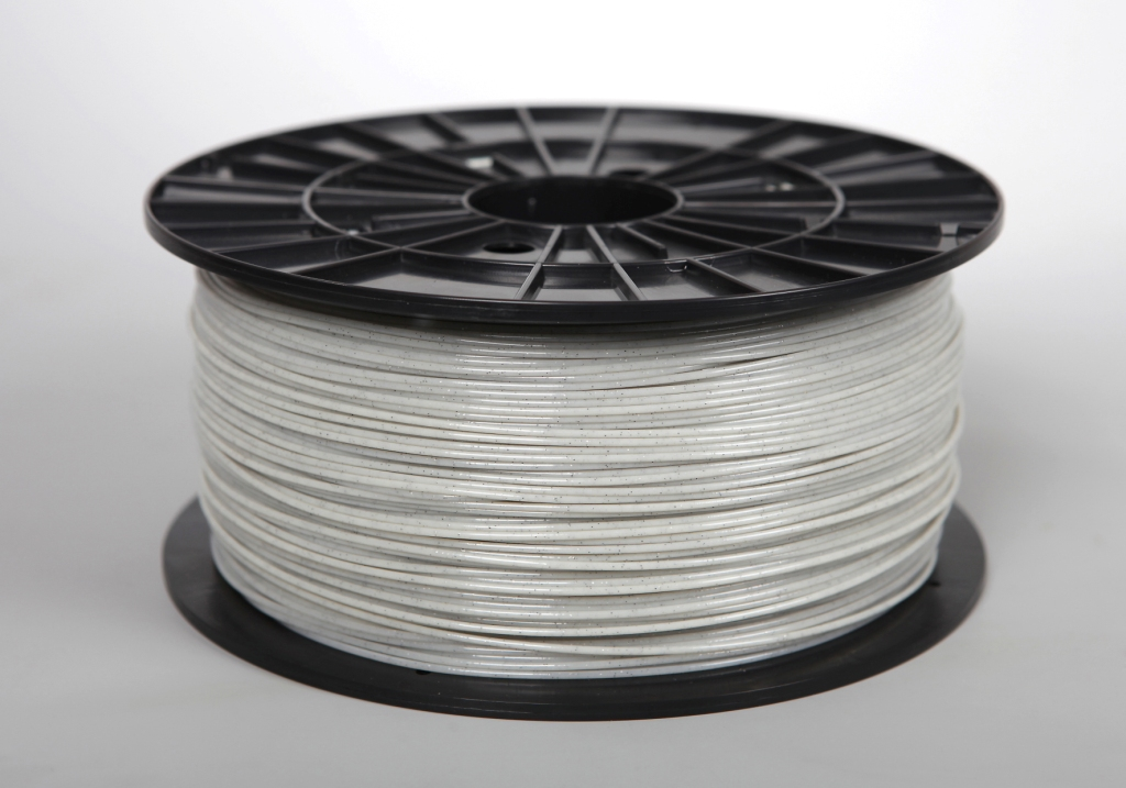 Filament-PM Tlačová struna ABS-T, 1.75mm, 1kg - rôzne farby Farba: Perlová biela s flitrami