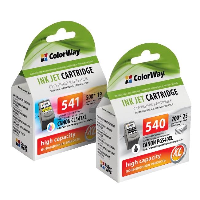 ColorWay Canon PG-540XL + CL-541XL combo pack - kompatibilný