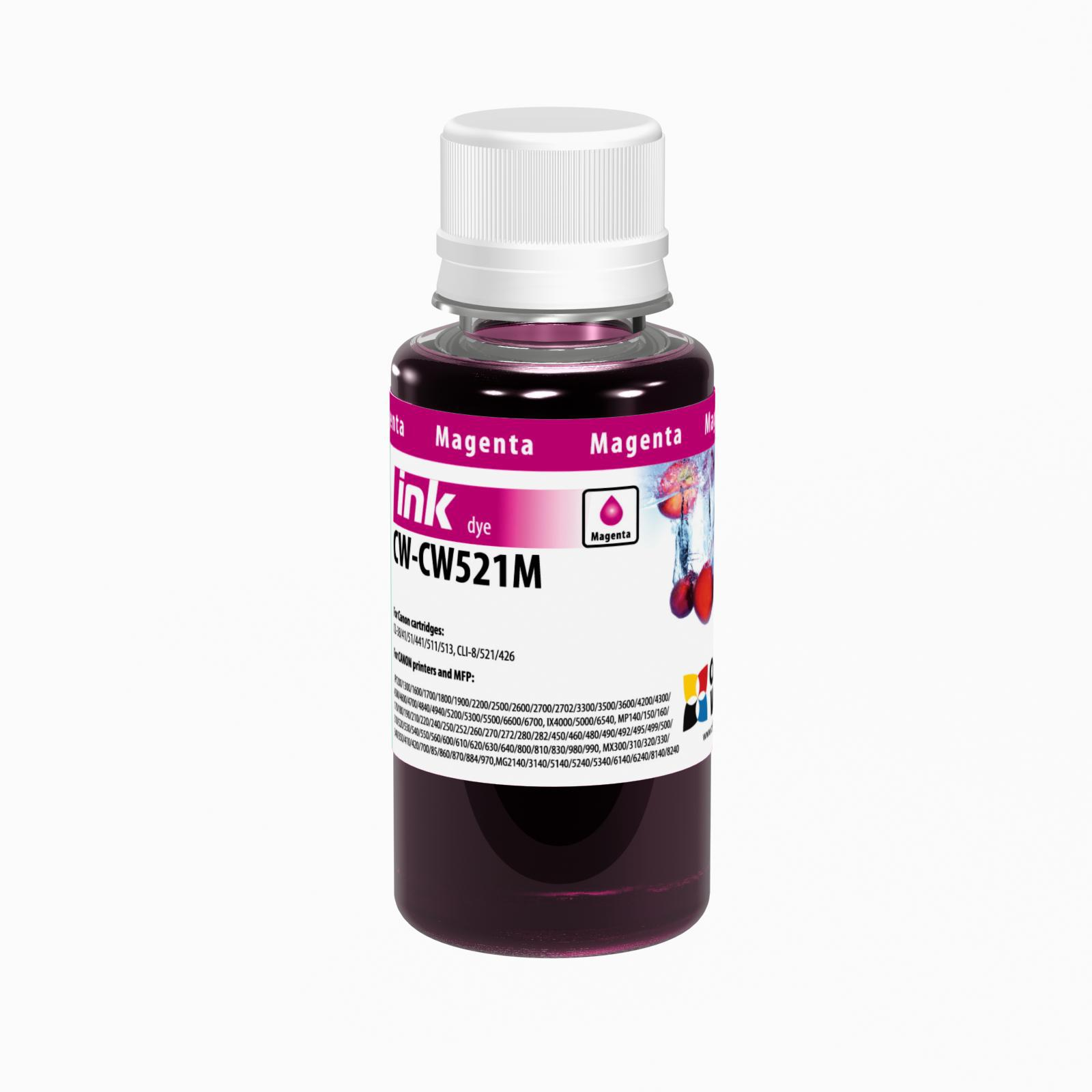 ColorWay Atrament Canon Magenta - 100ml/200ml Objem fľaše: 100ml