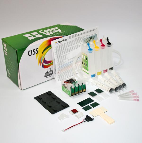 ColorWay CISS CW pre Epson WF2750 (T1631-1634) bez atramentov
