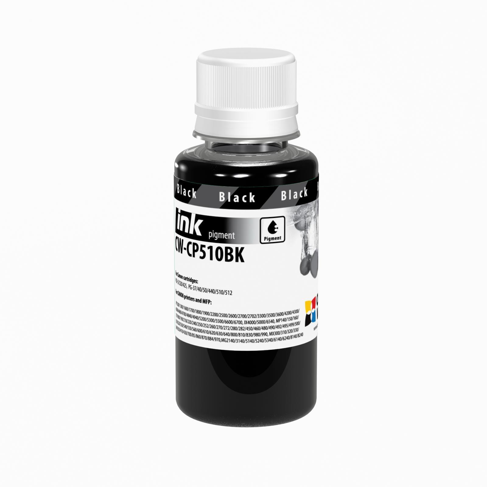 ColorWay Atrament Canon black (pigment) - 100ml/200ml Objem fľaše: 100ml