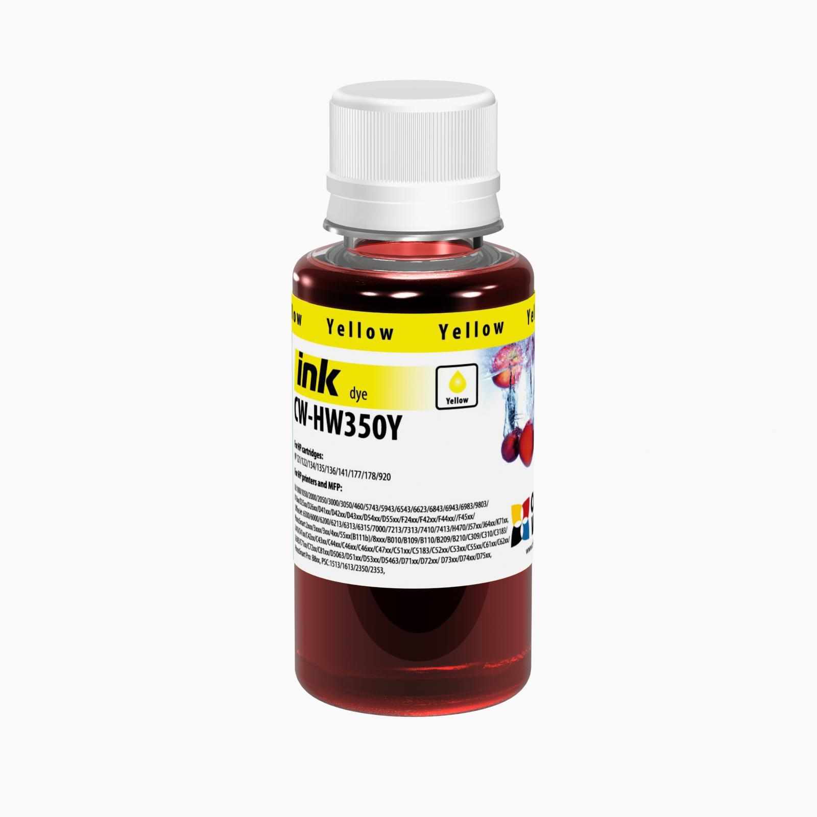 ColorWay Atrament HP Yellow - 100ml/200ml Objem fľaše: 100ml