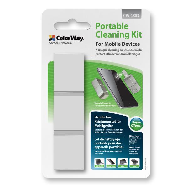 ColorWay Prenosná čistiaca sada pre mobilné zariadenia CW-4803