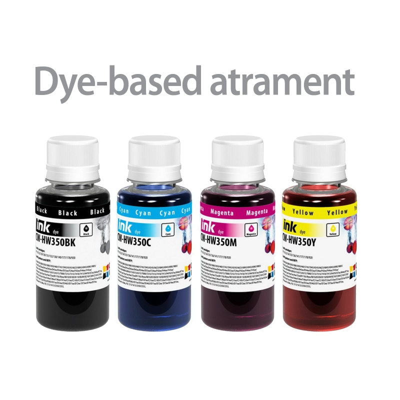 ColorWay Atrament HP multipack 4x100ml - dyebased