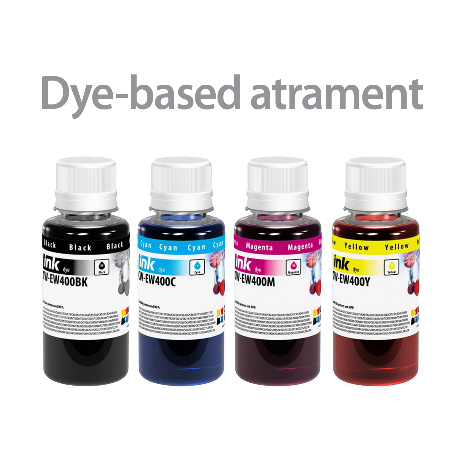 ColorWay Atrament EPSON 4x100ml - dyebased
