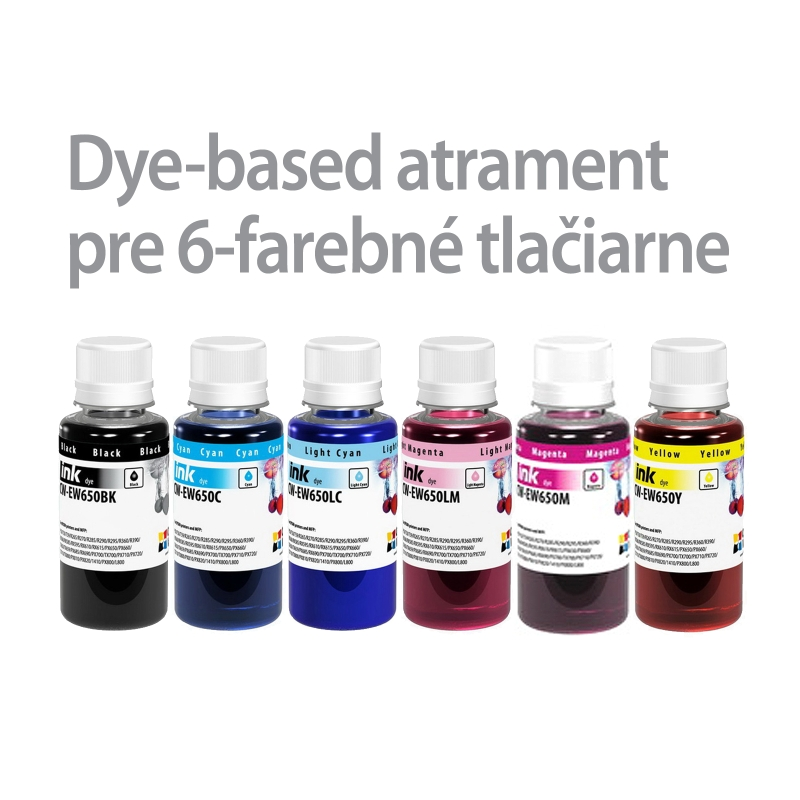 ColorWay Atrament EPSON 6x100ml - dyebased