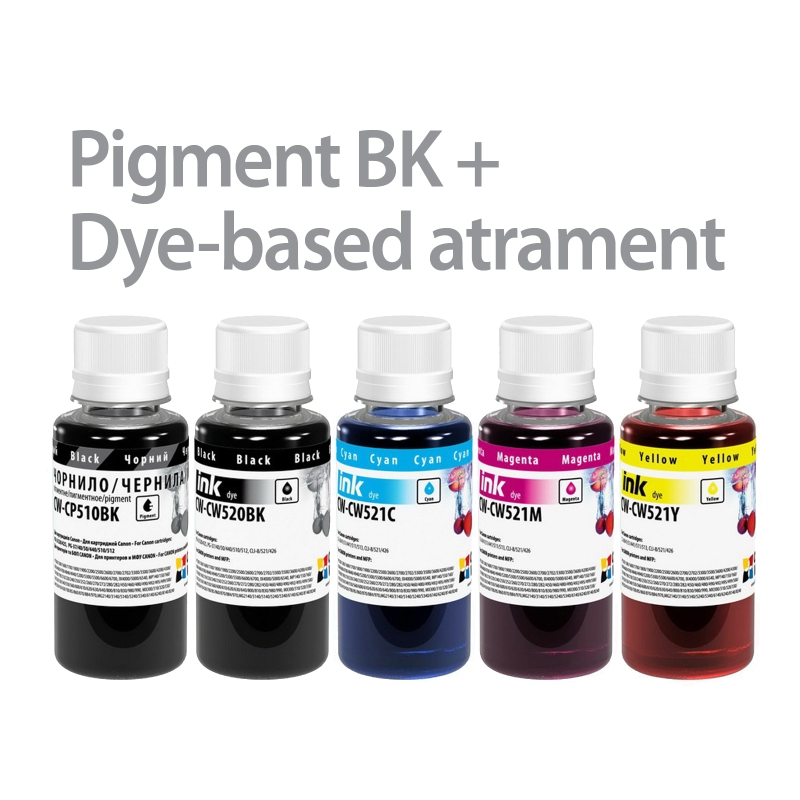 ColorWay Atrament CANON multipack 5x100ml