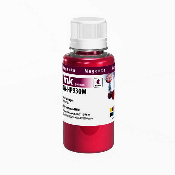Atrament ColorWay pre HP 933/951 magenta - 100ml (po expirácii)