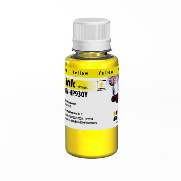 Atrament ColorWay pre HP 933/951 yellow - 100ml (po expirácii)