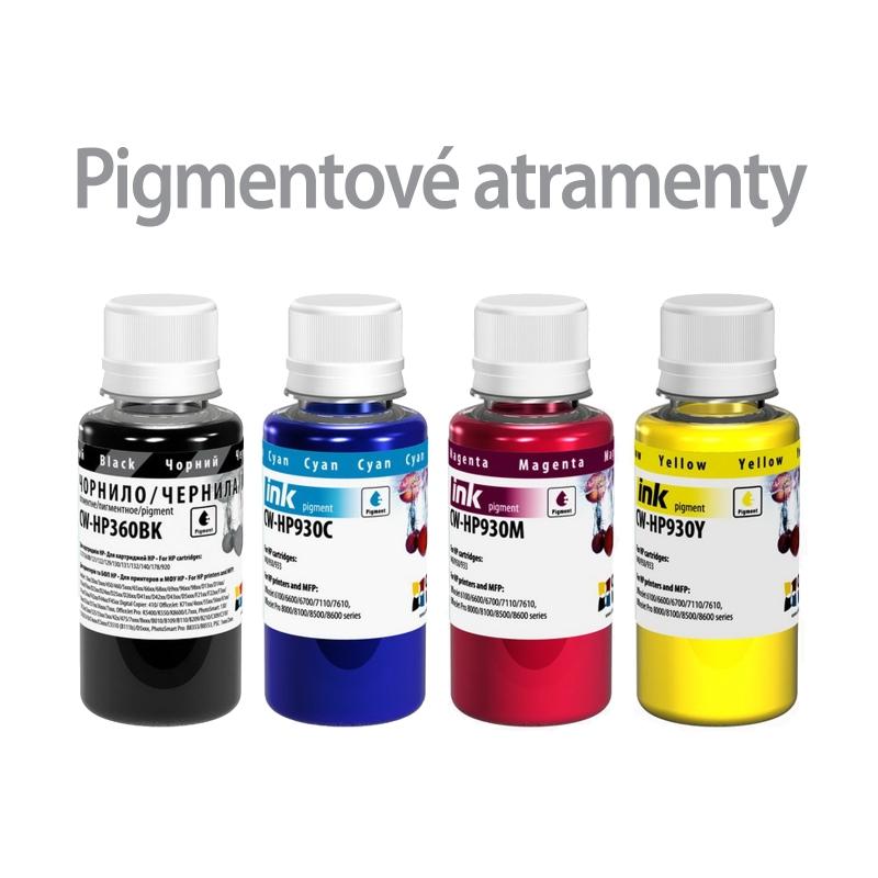 ColorWay Atrament HP multipack 4x100ml - pigment