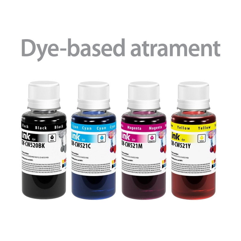 ColorWay Atrament CANON multipack 4x100ml - dyebased