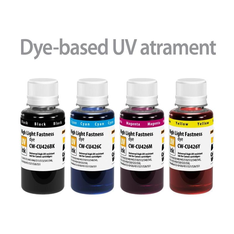 ColorWay Atrament CANON multipack 4x100ml - UV odolné