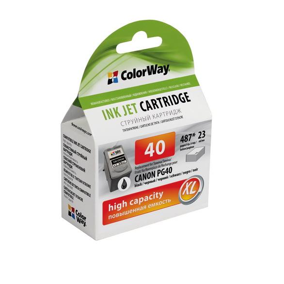 ColorWay Canon PG-40 black - kompatibilný
