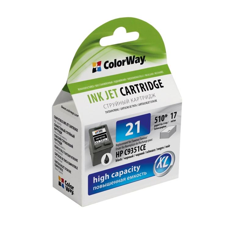 ColorWay HP 21XL (C9351A) black - kompatibilný