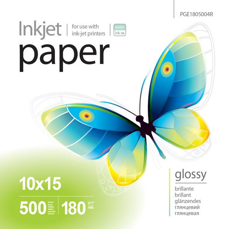 PrintPro Fotopapier PP Vysoko lesklý 180g/m²,500ks,10x15