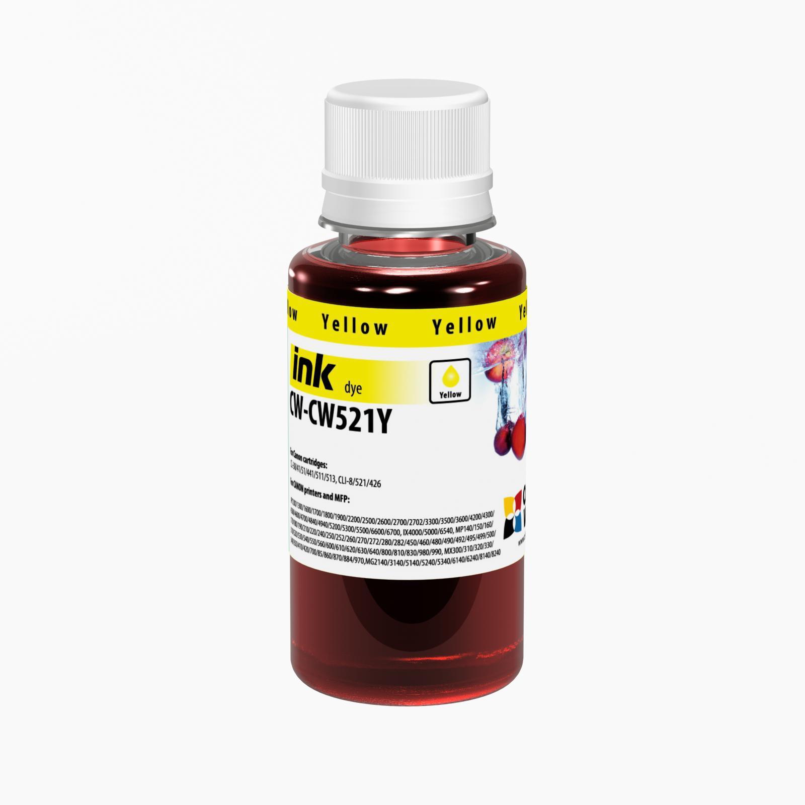 ColorWay Atrament Canon Yellow - 100ml