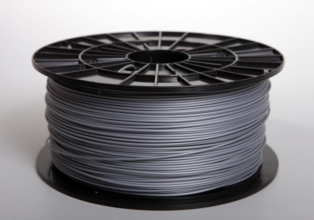Filament-PM Tlačová struna ABS 1.75mm, 1kg - rôzne farby Farba: Strieborná