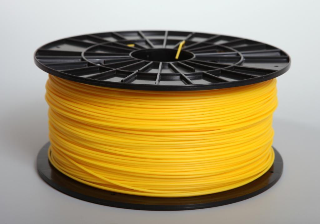 Filament-PM Tlačová struna ABS 1.75mm, 1kg - rôzne farby Farba: žltá
