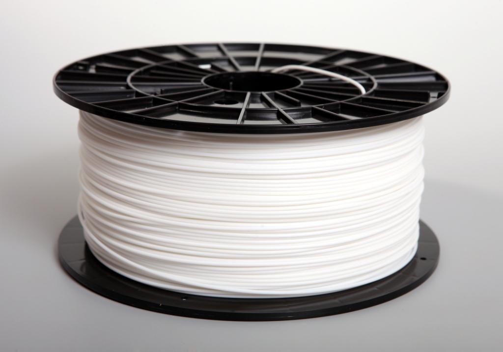 Filament-PM Tlačová struna ABS 1.75mm, 1kg - rôzne farby Farba: Biela