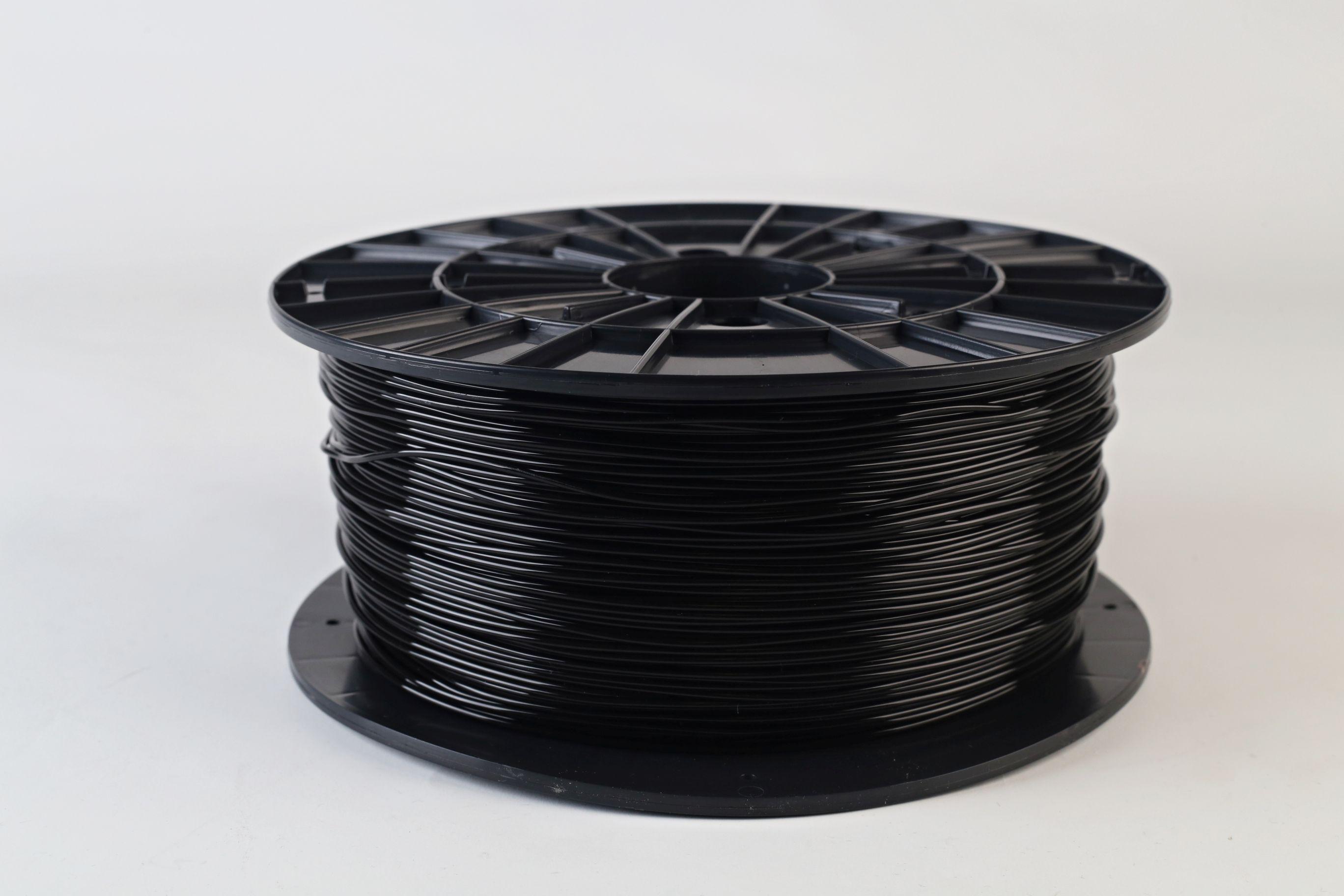 Filament-PM Tlačová struna PLA 1.75mm, 1kg - rôzne farby Farba: čierna
