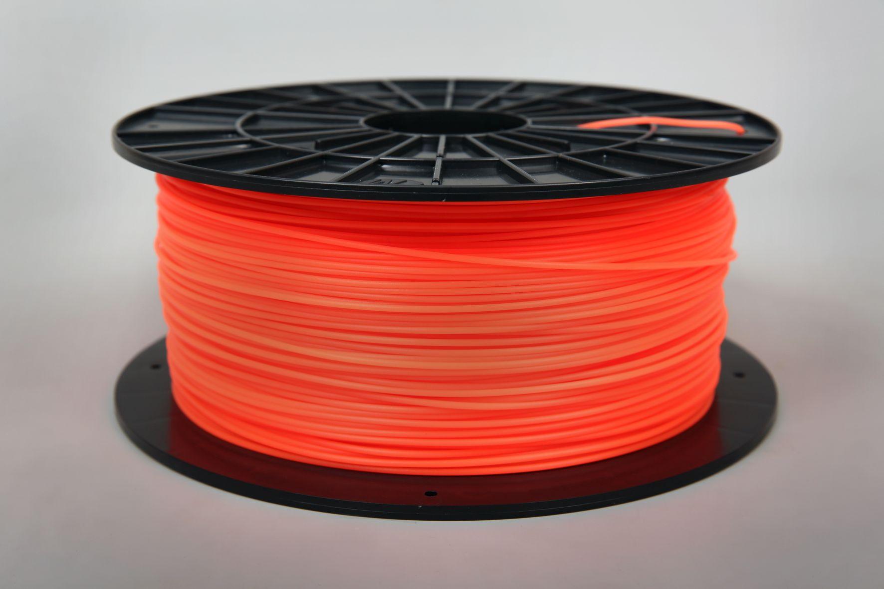 Filament-PM Tlačová struna PLA 1.75mm, 1kg - rôzne farby Farba: Fluorescentná oranžová