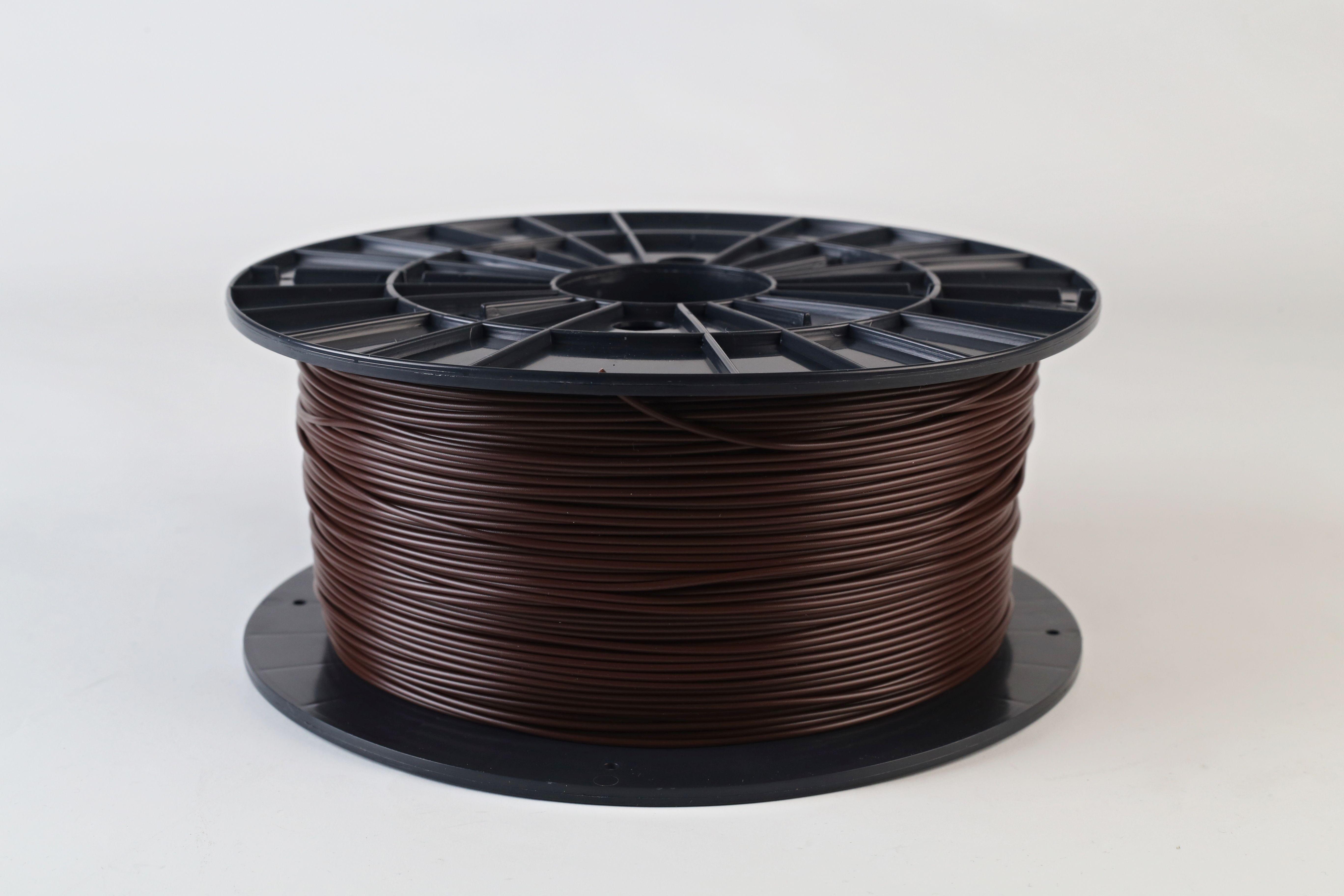 Filament-PM Tlačová struna PLA 1.75mm, 1kg - rôzne farby Farba: Hnedá