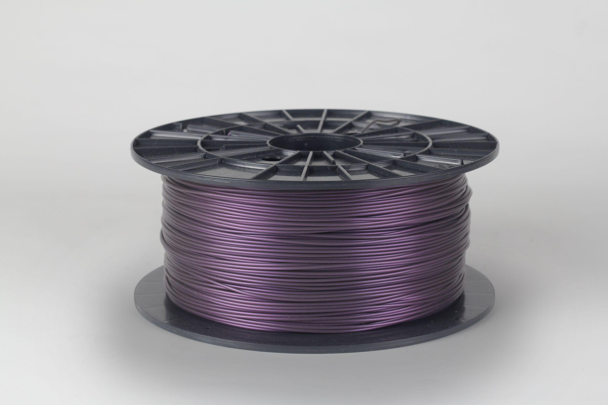 Filament-PM Tlačová struna PLA 1.75mm, 1kg - rôzne farby Farba: Metalická fialová