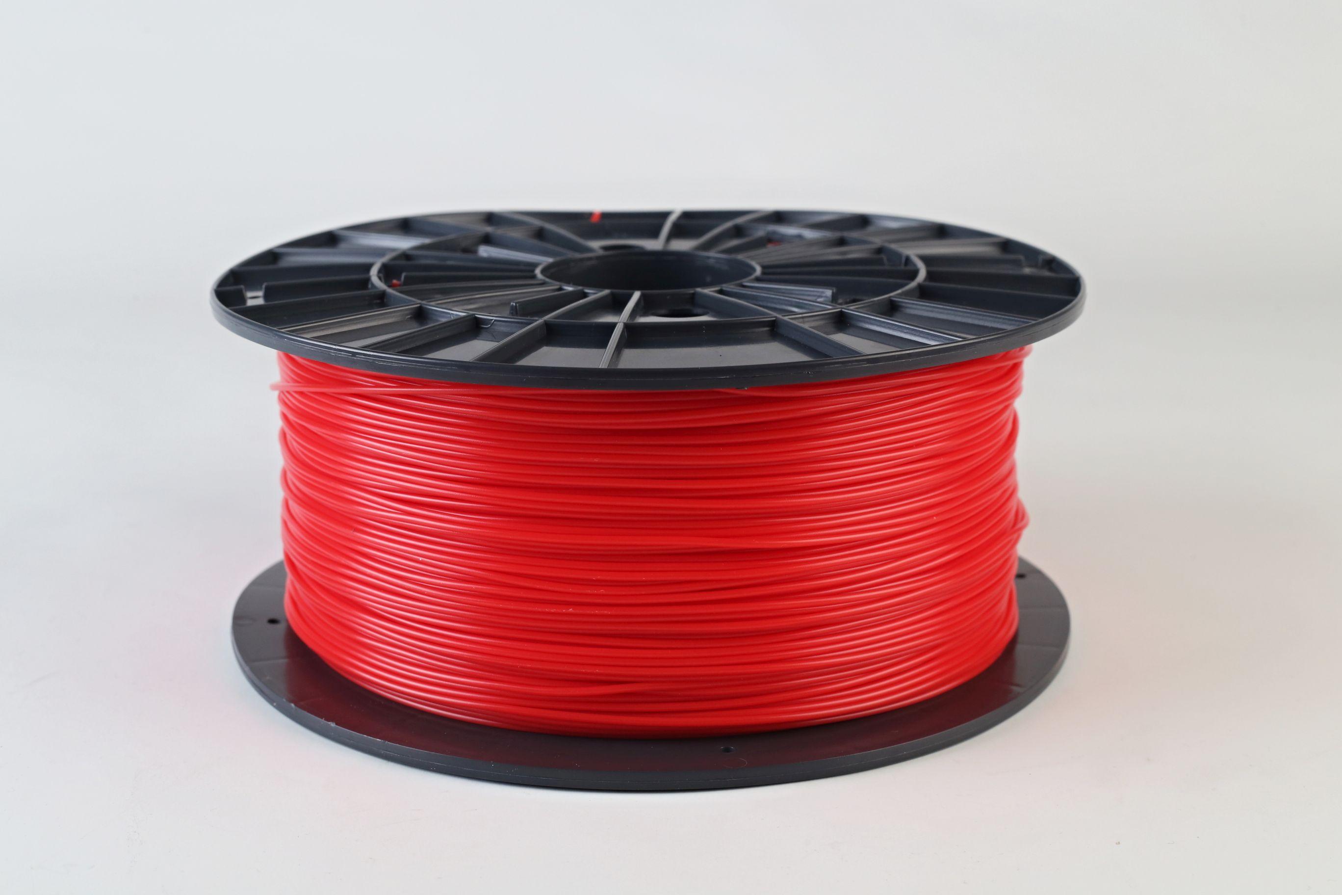 Filament-PM Tlačová struna PLA 1.75mm, 1kg - rôzne farby Farba: červená