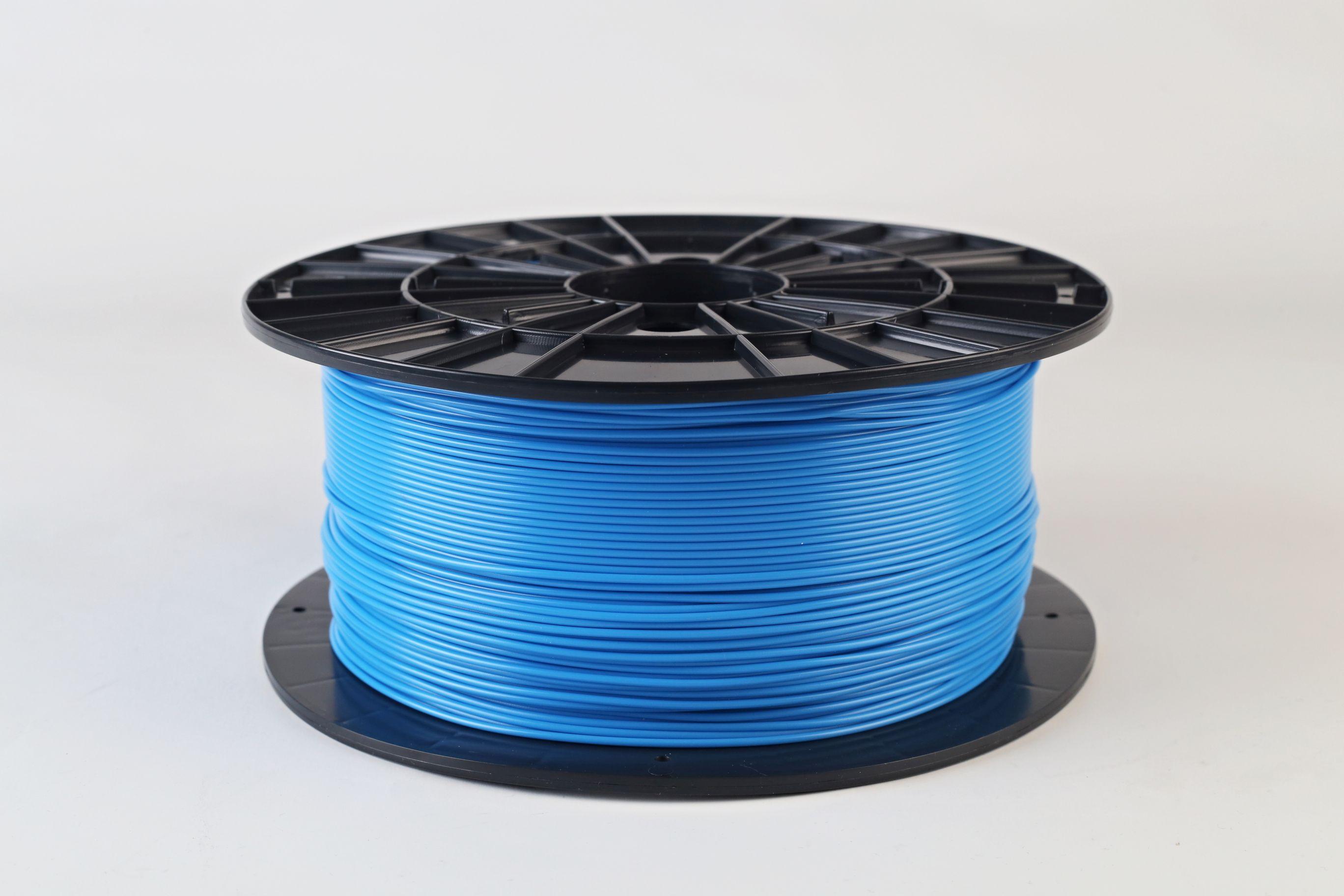 Filament-PM Tlačová struna PLA 1.75mm, 1kg - rôzne farby Farba: Modrá