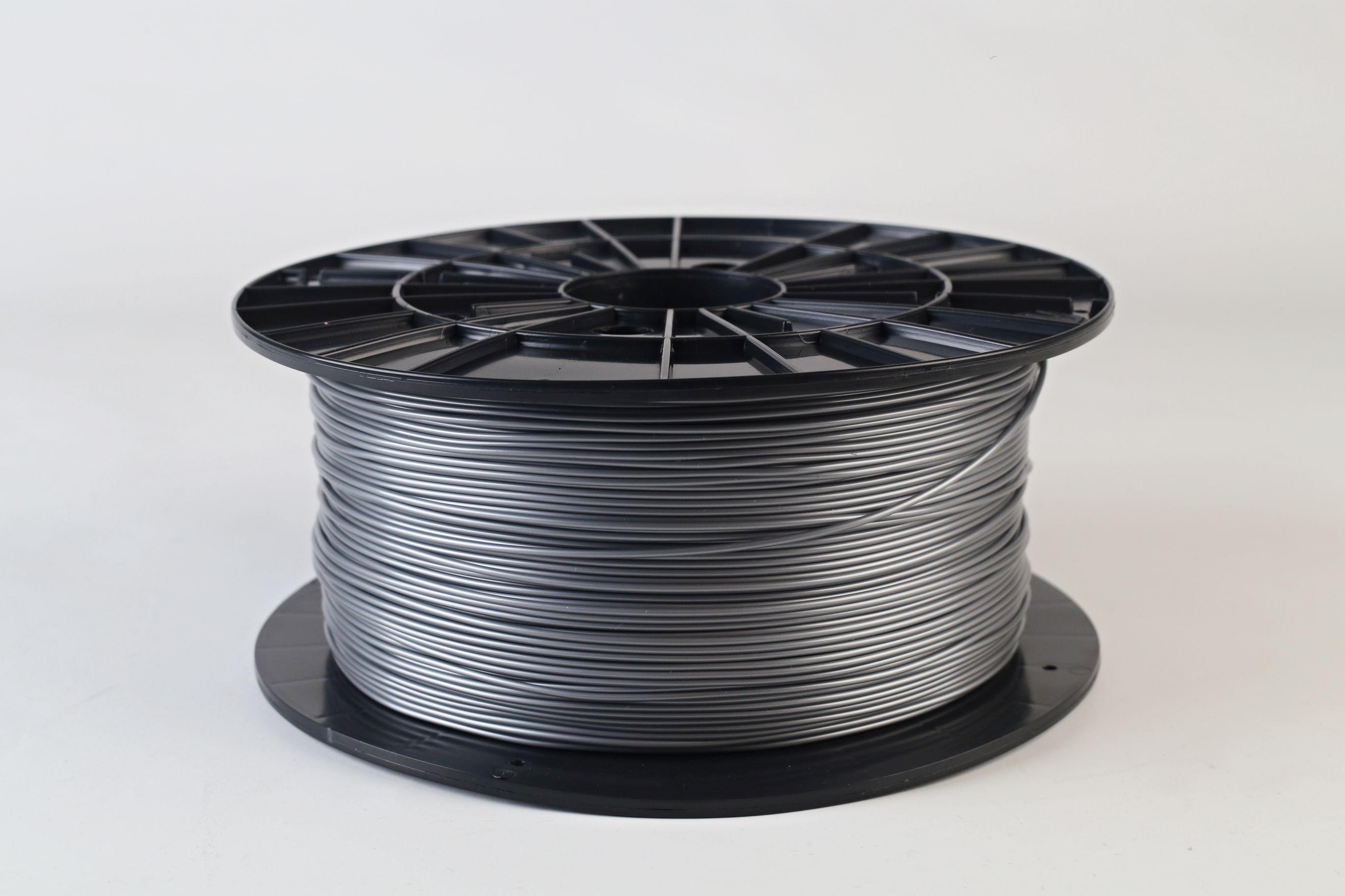 Filament-PM Tlačová struna PLA 1.75mm, 1kg - rôzne farby Farba: Strieborná