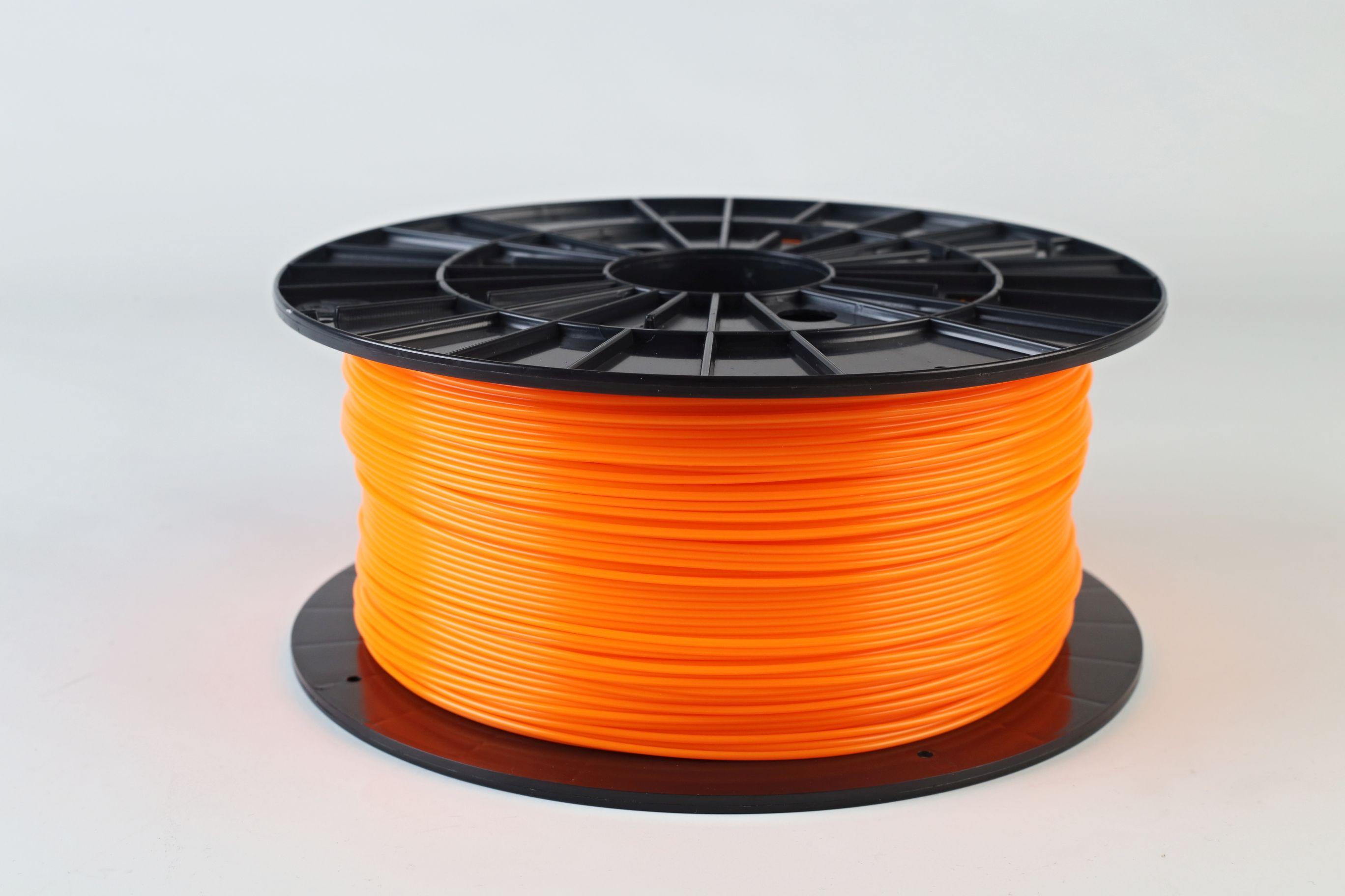 Filament-PM Tlačová struna PLA 1.75mm, 1kg - rôzne farby Farba: Oranžová