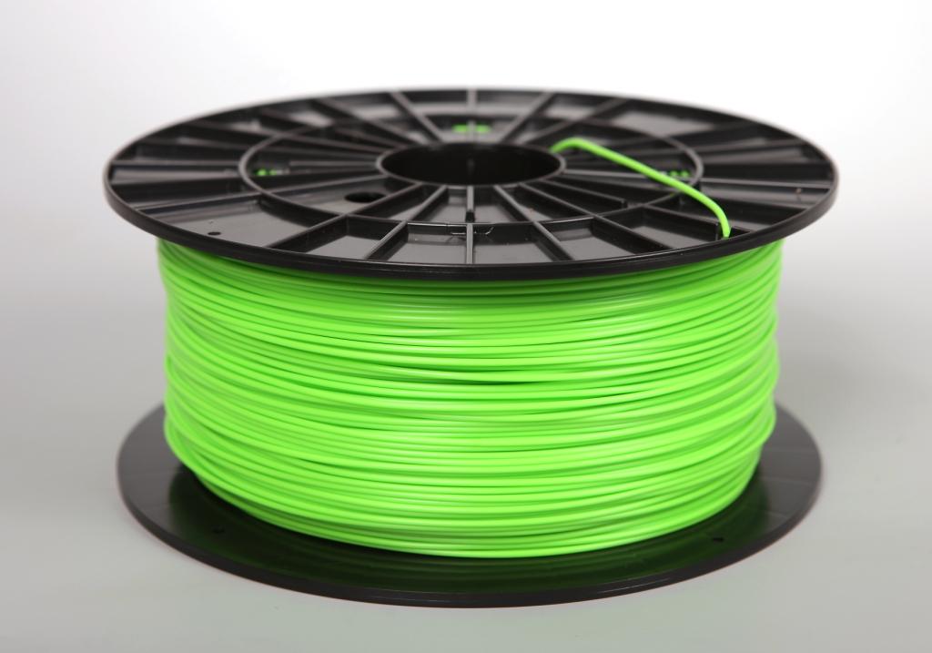 Filament-PM Tlačová struna PLA 1.75mm, 1kg - rôzne farby Farba: Zeleno-žltá