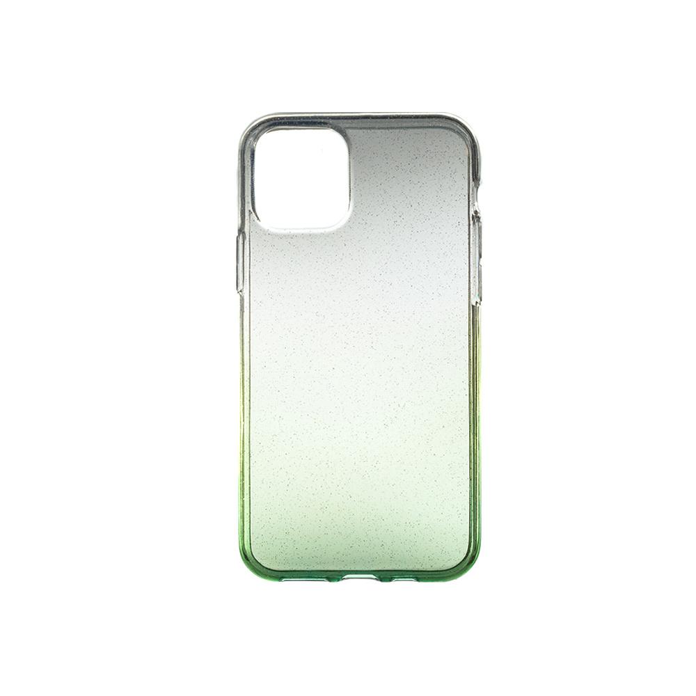 Puzdro ColorWay Shine-Gradient pre smartfóny Apple iPhone 11 - zelené