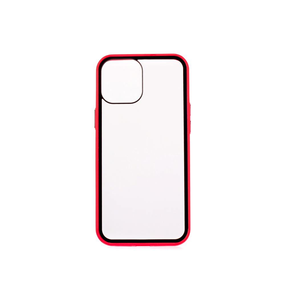 Puzdro ColorWay Smart Matné pre Apple iPhone 12 Pro Max - červené