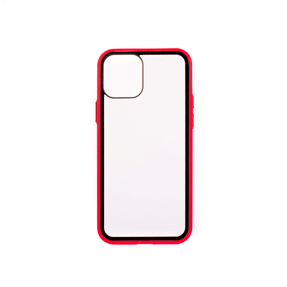 Puzdro ColorWay Smart Matné pre Apple iPhone 12 Pro - červené