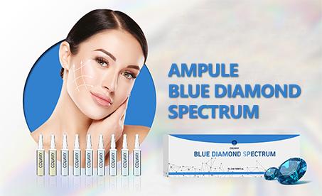 Novinka!! BLUE DIAMOND SPECTRUM Kosmetické ampulky