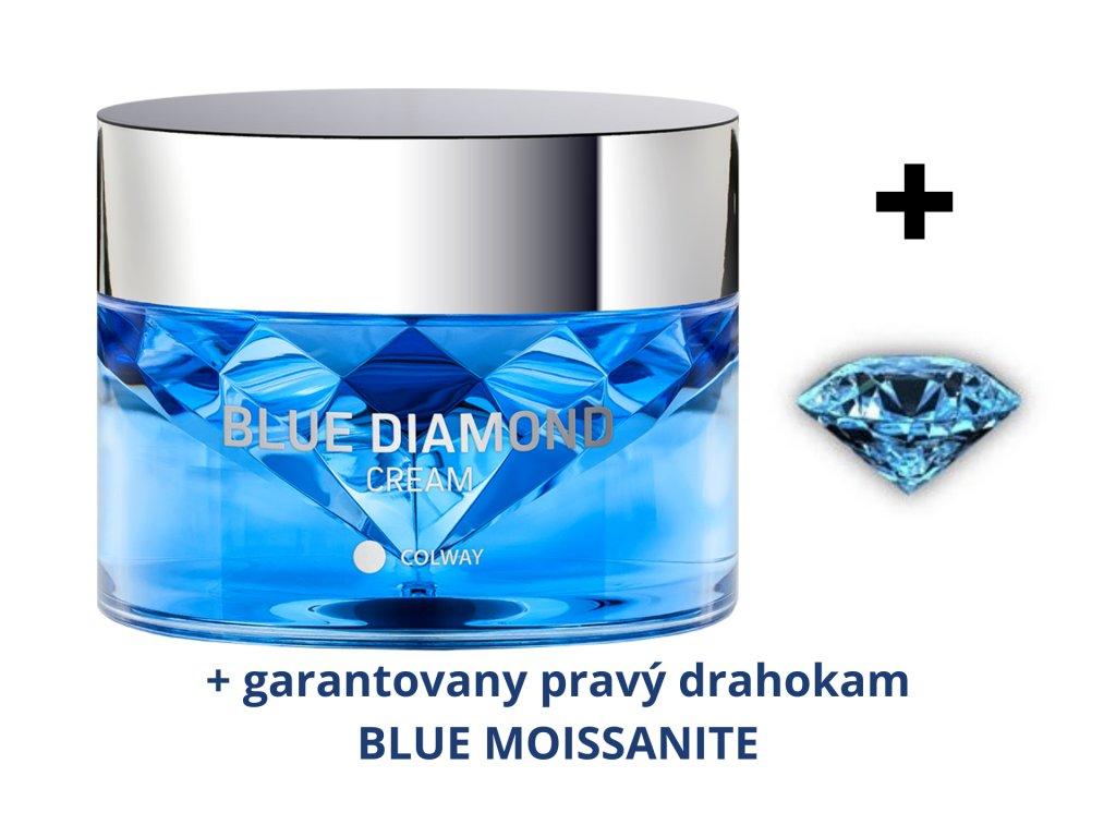 Krém BLUE DIAMOND + Garantovany Drahokam Modrý Moissanit
