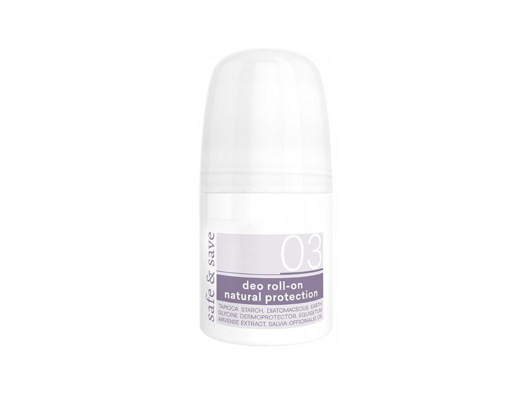 Deo Roll-On Natural Protection Přírodní Antiperspirant