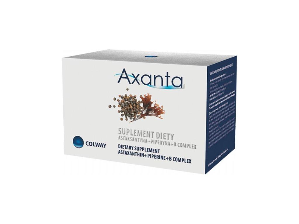 AXANTA - ASTAXANTHIN - Jeden z Nejsilnějších Antioxidantů + Piperin + Komplex Vit. B