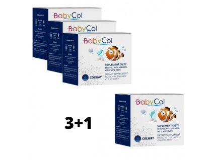 Babycol  3+1 ZDARMA - Přírodní Pastilky pro Děti na Cucání k Podpoře Imunity