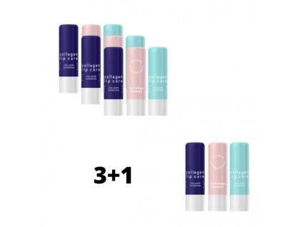 Kolagenová péče o rty 3+1 ZDARMA/ Collagen Lip Care