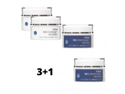 3+1 ZDARMA Denní hydratační kolagenový krém + Noční regenerační krém s Matrixylem Synthe'6™