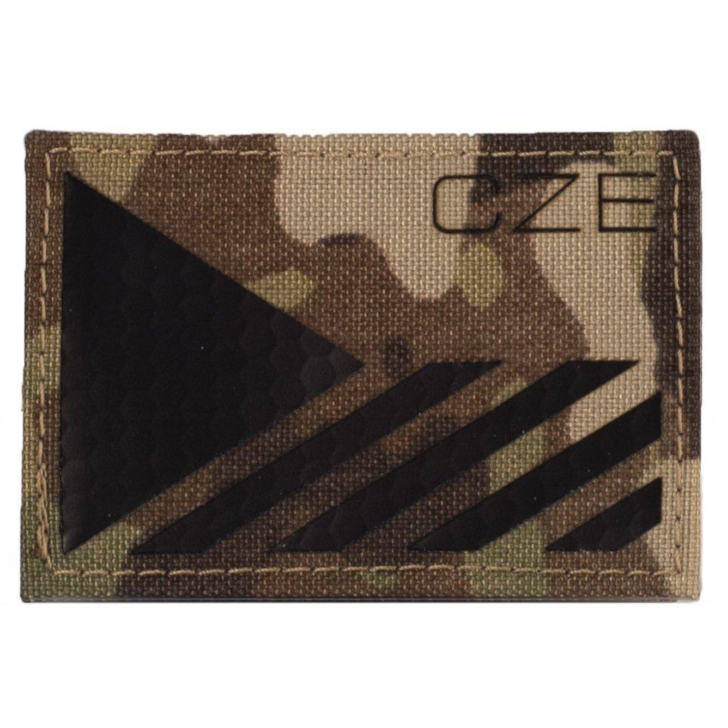 Nášivka - IR vlajka CZE Laser Cut