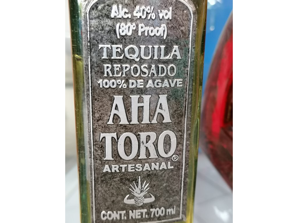 Aha Toro Reposado 700ml